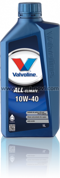 10W40 VALVOLINE ALL CLIMATE 1L
