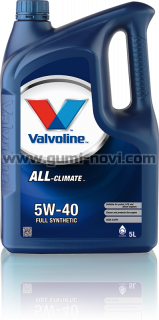 5W40 VALVOLINE ALL CLIMATE 5L